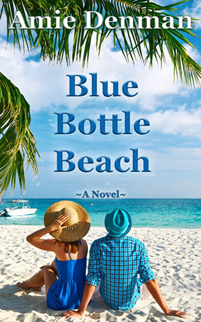 book cover for Blue Bottle Beach