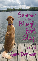 Book cover of Summer at the Bluegill Bait Shop